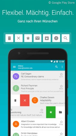 Android Email Apps: Aqua Mail ─ E-Mail-App