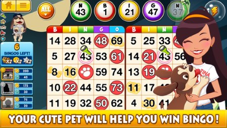 Casino Apps: DoubleU Bingo – Free Bingo & World Tour with Pet App