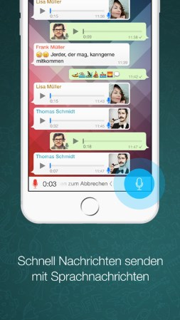 Chat Apps: WhatsApp App