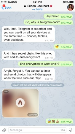 Chat Apps: Telegram App