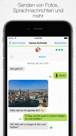 Chat Apps: Threema Messenger App