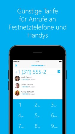 Chat Apps: Skype App
