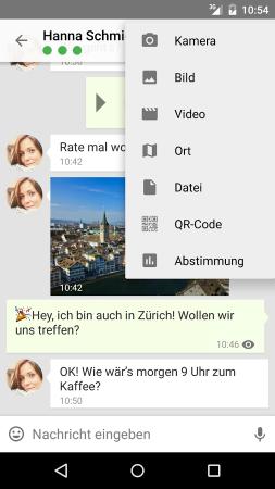 Was ist die beste alternative zu whatsapp?