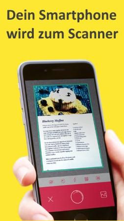 dokumenten scanner apps der scanner f r die hosentasche. Black Bedroom Furniture Sets. Home Design Ideas