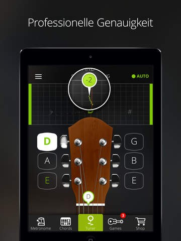 Screenshot Guitar Tuner