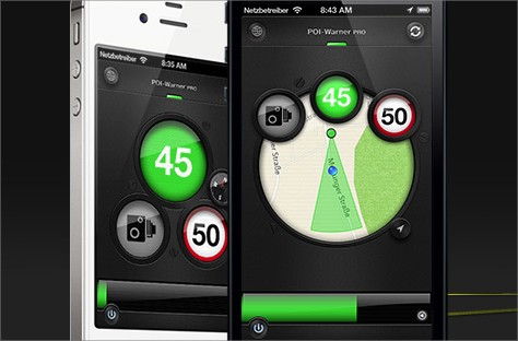 die besten blitzer apps im test f r iphone ios android. Black Bedroom Furniture Sets. Home Design Ideas