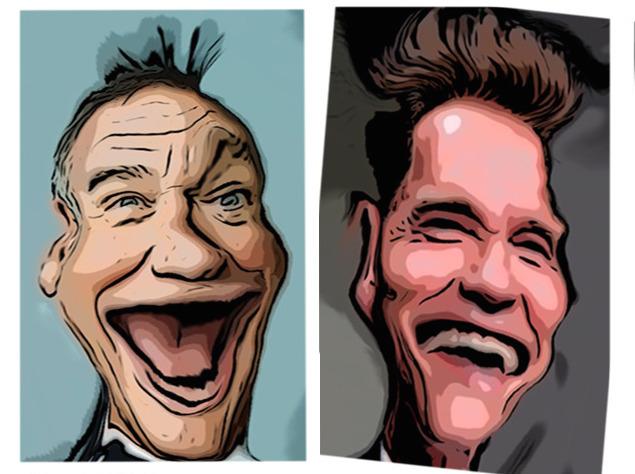 Karikatur vom Foto - Machs mit der Gratis-App Pic2Comic
