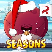 Icon der App Angry Birds Seasons Free