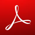 Icon der App Adobe Reader