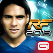 Icon der App Real Football 2013