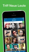Screenshot der iPhone-App: Skout App aus dem iTunes App Store (iOS).