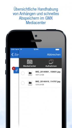 gmx account iphone geht nicht