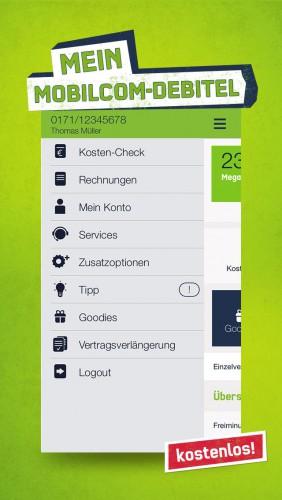 mein mobilcom debitel diese app brauchen mobilcom kunden. Black Bedroom Furniture Sets. Home Design Ideas
