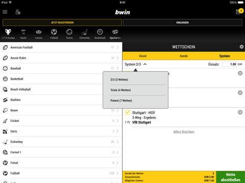 bwin de app