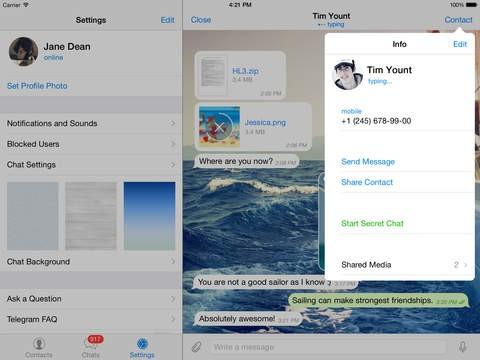 handy chat app Bergkamen