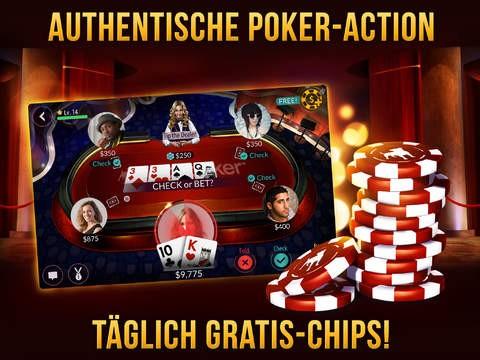 wie spiele ich zynga poker