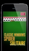 Screenshot der iPhone-App: Spider Solitaire Free by MobilityWare aus dem iTunes App Store (iOS).