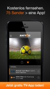 Screenshot der iPhone-App: TV DIGITAL: Zattoo Live TV aus dem iTunes App Store (iOS).