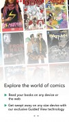 Screenshot der iPhone-App: Comics aus dem iTunes App Store (iOS).