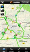 Screenshot der iPhone-App: NAVIGON traffic4all aus dem iTunes App Store (iOS).