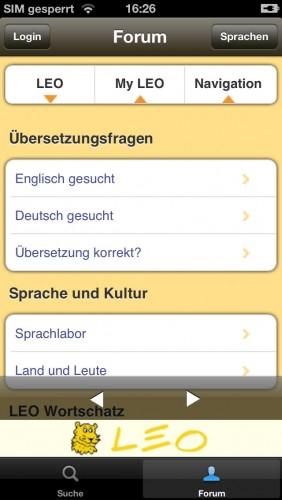 leo org app