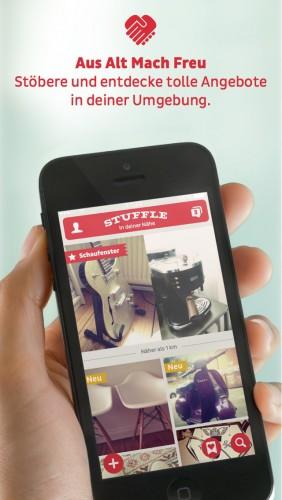 praktische flohmarkt app. Black Bedroom Furniture Sets. Home Design Ideas