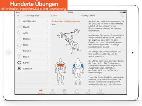 Trainingsplan Muskelaufbau selbst erstellen