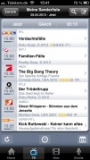 Screenshot der iPhone-App: teXXas aus dem iTunes App Store (iOS).