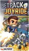 Screenshot der iPhone-App: Jetpack Joyride aus dem iTunes App Store (iOS).