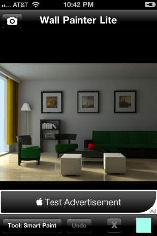 Screenshot Der IPhone App Wall Painter Lite Aus Dem ITunes Store IOS