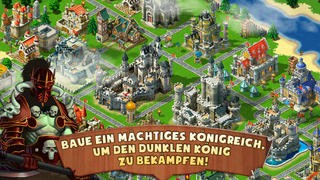 Screenshot der iPhone-App: Kingdoms & Lords aus dem iTunes App Store (iOS).