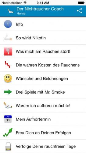 Gute app zum rauchen aufhoren