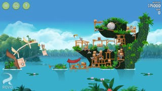 Screenshot der iPhone-App: Angry Birds Rio aus dem iTunes App Store (iOS).