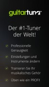 Screenshot der iPhone-App: Guitar Tuna aus dem iTunes App Store (iOS).