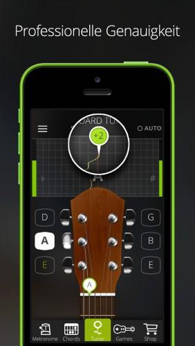 Guitar Tuner App | Gitarren-Stimmgerät und Akkord-Trainer