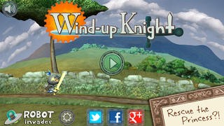 Screenshot der iPhone-App: Wind-up Knight aus dem iTunes App Store (iOS).