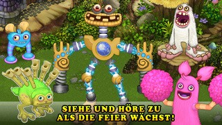Screenshot der iPhone-App: My Singing Monsters aus dem iTunes App Store (iOS).