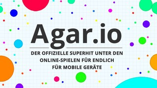 Screenshot der iPhone-App: Agar.io aus dem iTunes App Store (iOS).