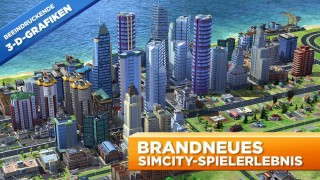 SimCity BuildIt Android Screen