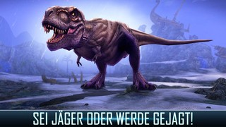 Screenshot der iPhone-App: Dino Hunter: Deadly Shores aus dem iTunes App Store (iOS).