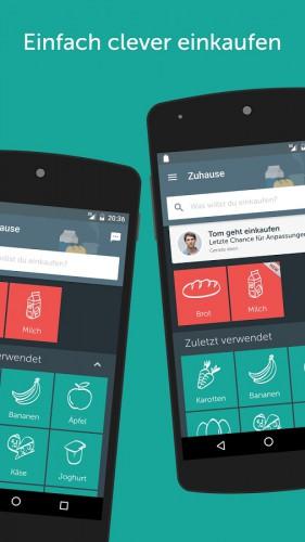 im test die besten einkaufslisten apps f r iphone android. Black Bedroom Furniture Sets. Home Design Ideas