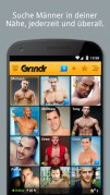 Screenshot der Android-App: Grinder App aus dem Google Play Store.