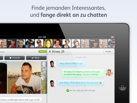 Dating app nach beziehungsende