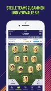 Screenshot der iPhone-App: FIFA Companion (FUT App) aus dem iTunes App Store (iOS).