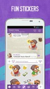 Screenshot der Android-App: Viber App aus dem Google Play Store.