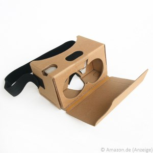 Cardboard VR-Brille auf Amazon.de